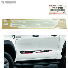 Sticker TRD Sportivo Side Genuine Decal Fit Toyota Hilux Revo Sr5 M70 2016 2017