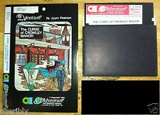 Curse of Crowley Manor Other Venture #2 by AI Scott Adams Apple II+,e,c,gs 1980