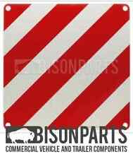+ABNORMAL LOAD WARNING MARKER BOARD 500X500MM ALUMINIUM SINGLE BP76-111