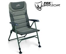 FOX Warrior Braccio Sedia Per Pesca Carpa/Grossolano cbc033