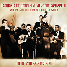 Django Reinhardt & Stephane Grappelli ULTIMATE Best Of GYPSY JAZZ New 2 CD