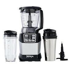 Nutri Ninja Auto IQ Compact Blender w/ Food Processor Bowl + To-Go Cups | BL492W