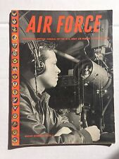 US Air Force Magazine October 1945 WWII Era Japs Surrender
