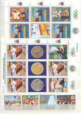 Olympiade 1988, Olympic Games - Paraguay - LOT ** MNH auf 3 Seiten