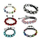 Shamballa Friendship Bracelet Crystal Disco Ball Premium Quality Balls Sparkle