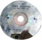 ERIC CLAPTON CD I'm Tore Down 1 Track UK PROMO Only 1996