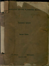 KENTUCKY STATE PLANNING BOARD PROGRESS REPORT REVISED EDITION JUNE 30 , 1935  PB
