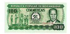 Mozambique … P-126 -Replacement zb- … 100 Meticais … 1980- … *UNC*