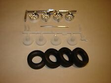 Model kit lot/Tire & wheel set Complete FOR 1/25 scale Dukes Dodge Charger