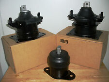 FITS: 2003-2005 HONDA ACCORD (3.0L, V6, AT-MT) -- SET OF 3 MOTOR MOUNTS.
