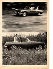 1965 MG MGB 1800  ~  NICE ORIGINAL 4-PAGE ROAD TEST / ARTICLE / AD