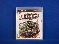 ps3 WORLD OF OUTLAWS Sprint Cars PAL UK RELEASE Region Free ENGLISH LANGUAGE