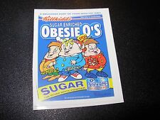 "RON ENGLISH POPAGANDA Cereal Obesie O's 2.5"" Sticker decal frm poster art print"