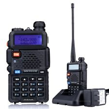 NKTECH UV-5R PLUS VHF UHF Tri-Power 8W 4W 1W Two-Way Radio Walkie Talkie BaoFeng