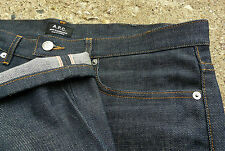 NWOT NEW APC New Standard Raw Selvedge Indigo Denim Jeans Tag 34 Slim Straight