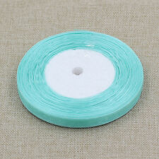 "Free Shipping 50 Yards 3/8""(10mm)Sheer Organza Ribbon Craft/Wedding/Party"