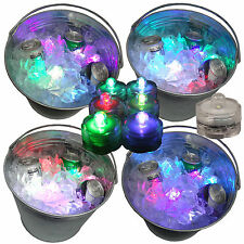 Mardi Gras Fat Tuesday Party LED Submersible Ice Bucket Lights 12 Color Changing