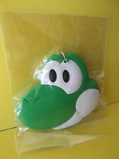 """Mario Brothers """"Yoshi"""" PVC Key Chain Double Sided 2""""in Tall x 2.5""""in Wide"""
