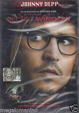 Dvd **SECRET WINDOW** con Johnny Depp nuovo sigillato 2004