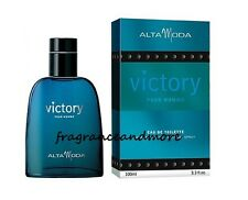 ALTA MODA VICTORY POUR HOMME FOR MEN 3.3 OZ / 100 ML EAU DE TOILETTE SPRAY