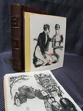 ILLUSTRATED 1st ED LIMITED EDITION Hand Colored Plates ADOLPHE Manuscript RARE