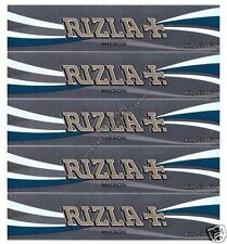 RIZLA MICRON KING SIZE SLIM ROLLING PAPERS (x5 KINGSIZE PAPER PACKS)
