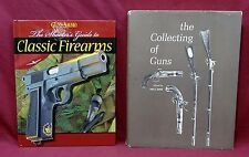 2 Book Lot: Classic Firearms from Guns and Ammo: The Collecting of Guns, Serven