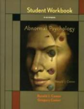 Student Workbook to accompany Abnormal Psychology by Comer, Ronald J., Comer, G