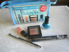 Sephora Waterproof Bronzing Kit with Makeup Bag New Make Up Kit