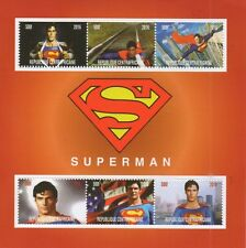 Superman comic film christopher reeve 2016 neuf sans charnière timbre sheetlet