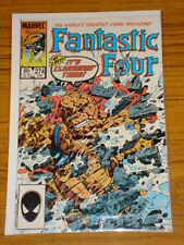 FANTASTIC FOUR #274 VOL1 MARVEL SPIDERMAN ALIEN COSTUME JANUARY 1985