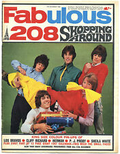 FABULOUS 208 10/12/1966 Small Faces PJ Proby Los Bravos Sheila White Cliff DDBMT