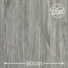 90cm sheffield grey oak collante vinyle fablon (200-5582) de 1 à 15 mètres
