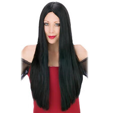 NEW 60cm Black Long Straight Wig Full hair Wigs for Women Men Cosplay Party