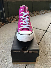 CONVERSE CT All Stars Pink Sapphire Magenta Hi Top Trainers | Women's UK 4