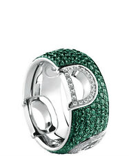 Anello Damiani D Icon 20058695 diamanti e smeraldi ring diamond emerald verde