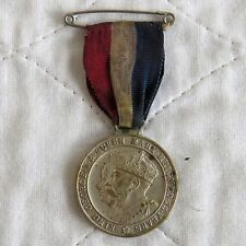 KINGSTON UPON THAMES 1935 KING GEORGE V & QUEEN MARY 32mm SILVER JUBILEE MEDAL