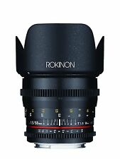 New Rokinon DS50M Cine DS 50mm T1.5 AS IF UMC Full Frame Lens For Canon EOS EF