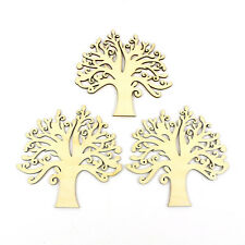 Wooden Hollow Shape Autumn Sky Of Tree Wishes Blank Art Crafts Wedding Decor