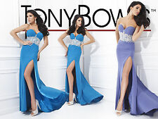 Tony Bowls 114709--Color: Turquoise--Size 12 --Prom Dress