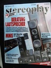 STEREOPLAY 1/91 AIWA HD S 1,SHARP RX P 1,HECO P 5000,SUPERIOR 730,LIBERO,T+A A22
