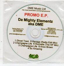 (ET812) Da Mighty Elementz, Ghost Town - DJ CD