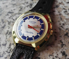 Vintage 1970´s NOS Justex Watch 17 Juwels Gold