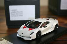 1:43 Looksmart Lamborghini Sesto Elemento 2010 Canopus White LS382C