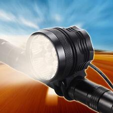 7x XM-L2 T6 Proiettore faro 10000LM Bike Bicycle Headlight + ottico posteriore