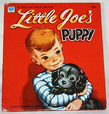 Little Joe's Puppy - Dorothy Haas/F. S. Winship (1957 HC) Whitman Tell-A-Tale