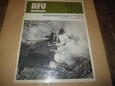 AVF weapons 10...panzerkampfwagen V panther
