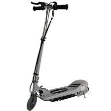 SILVER KIDS ELECTRIC SCOOTER 120w 24v RIDE ON BATTERY CHILDRENS TOY FAST BIKE