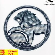 Holden 130mm Lion Emblem Grille Badge CARBON FIBRE VE VF SS SSV SV6 Commodore