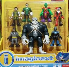 NUOVO Fisher Price Imaginext JUSTICE LEAGUE 7-Pack con Solomon Grundy